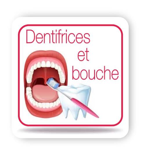 Dentifrices et bouche